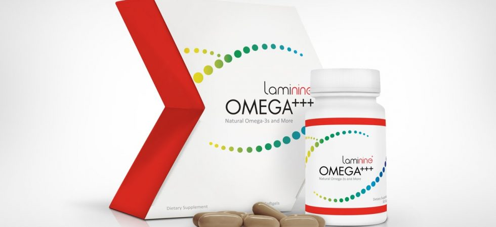 Lifepharm presents Laminine Omega+++